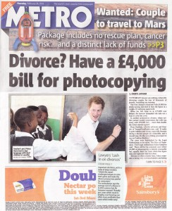 Metro Front Page - Thu 28 Feb 2013