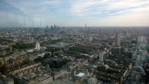 View from the top of BT Tower