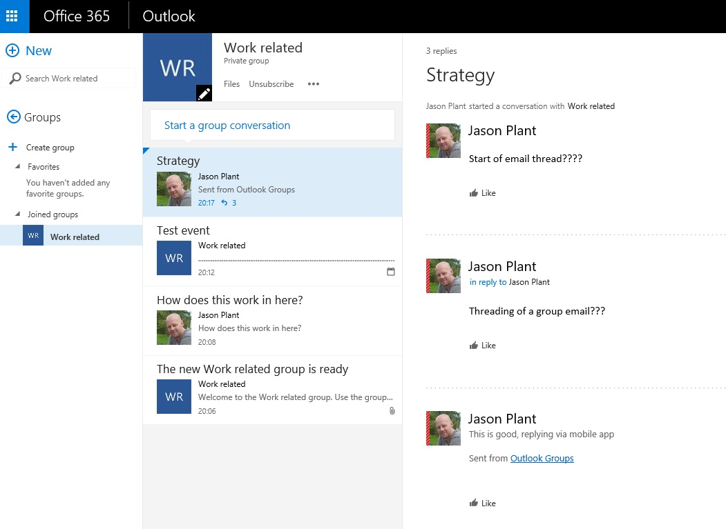 Outlook groups in Office365 – this could put the nail in the ...