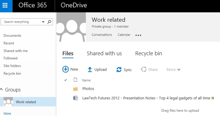Archive Office365 | No Option for Law Firm