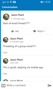 Outlook Groups App