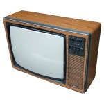 Old style simple TV of the Eighties!